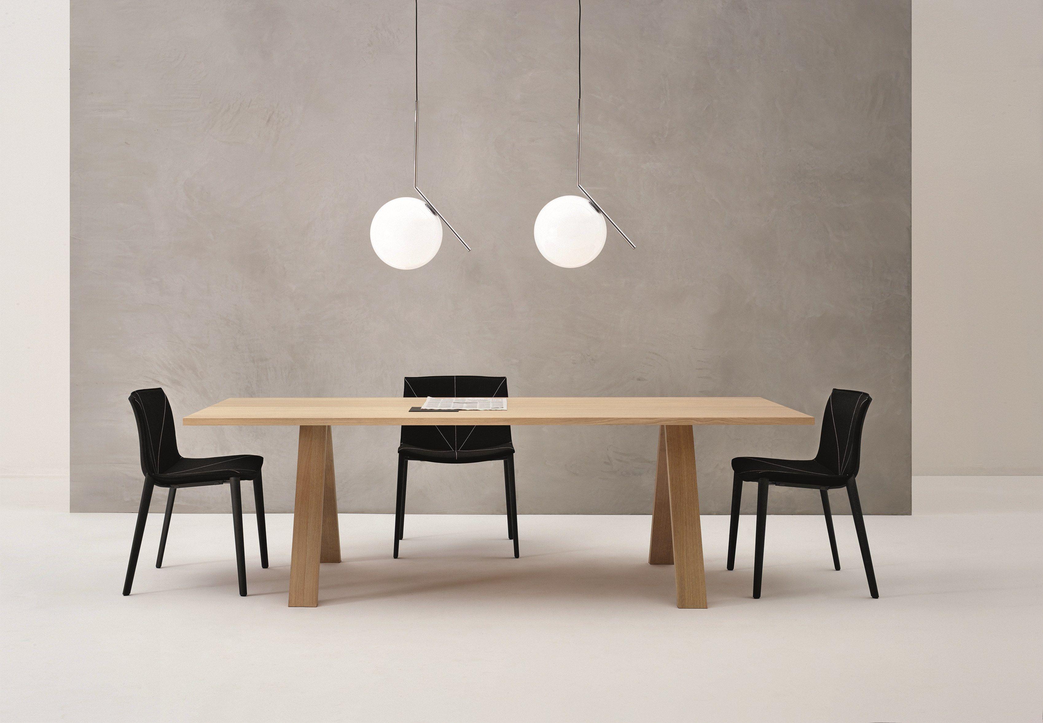 Fattorini Sedie ~ Cross table by arper design fattorini rizzini partners product