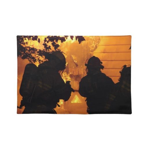 Firefighter Team Placemat