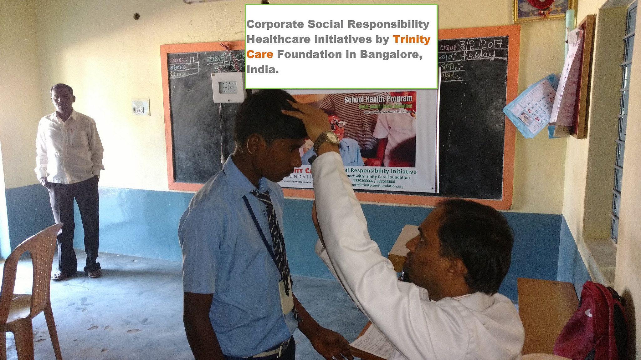 Corporate Social Responsibility activities Bangalore