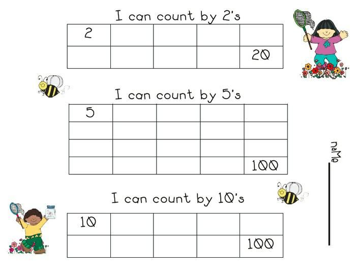 Number Names Worksheets skip counting worksheets for – Math Skip Counting Worksheets