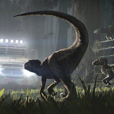 Raptors attack, Julien Gauthier