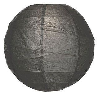 Charcoal Grey 10 Inch Premium Round Paper Lantern by Luna Bazaar. $3.95. This small grey paper lantern is made with the finest quality rice paper and bamboo freestyle ribbing. As with all our premium paper lanterns, they can be used with most ceiling fixtures and with most light cords for hanging lanterns. They can also be used with our LED battery lights as convenient, cord-free lighting and decoration for parties, weddings, patios, gardens, and outdoor celebrations. (...