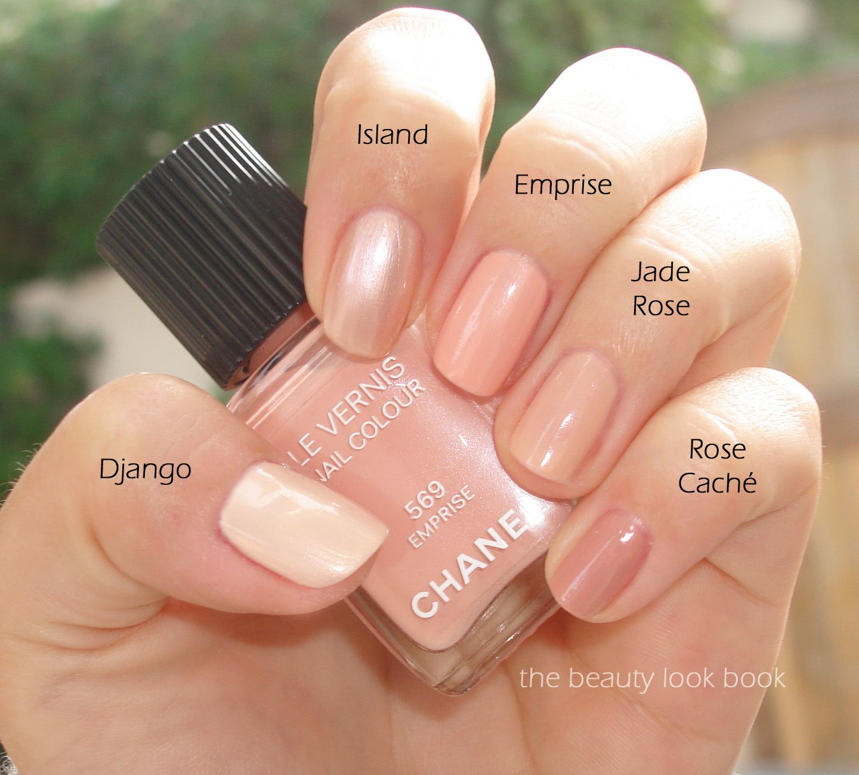 The Beauty Look Book: Chanel Django, Island, Emprise, Jade
