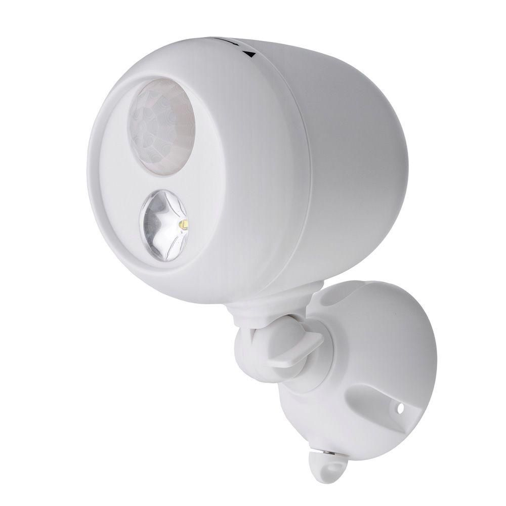Mr Beams Outdoor White Wireless Motion Sensing LED Spot Light | Products