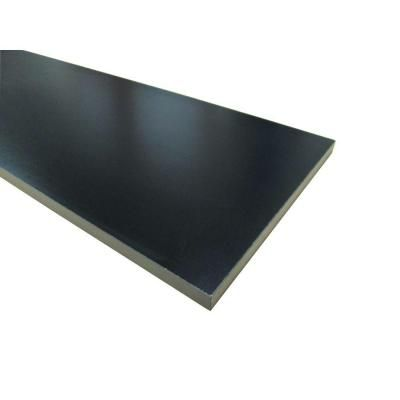 Black Thermally Fused Melamine Shelf 57188 At The Home Depot Color Bar Counter
