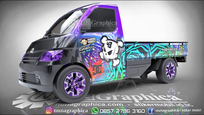 Kami Spesialis Decal Print Sticker Mobil Mengerjakan Dari Konsep Design Sampai Ke Pemasangan Hasil Cetak Highres Dengan Me Mobil Stiker Mobil Aksesoris Mobil
