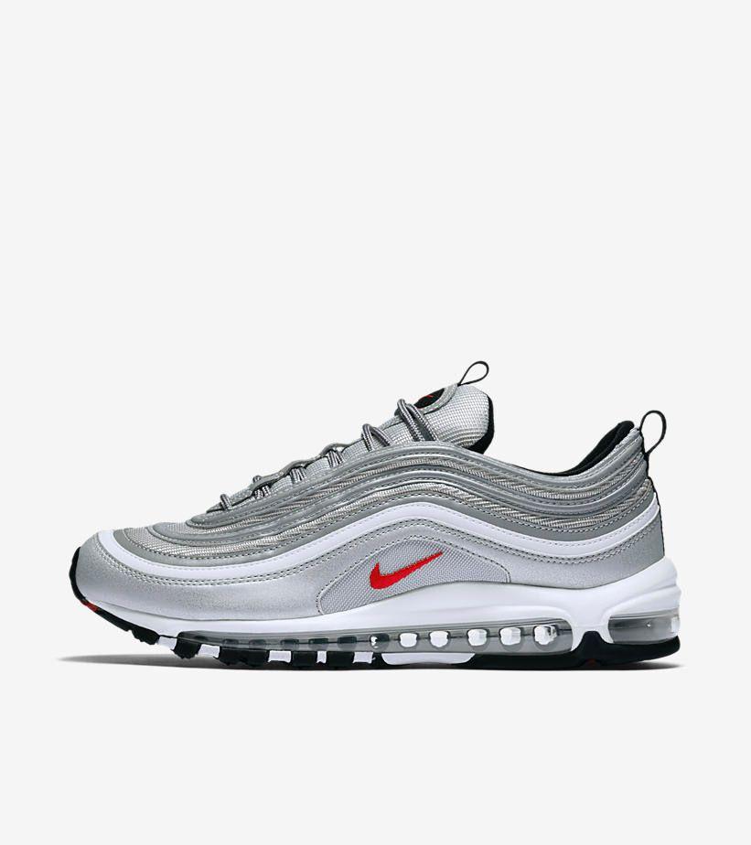 lowest price a22bc bf5c7 Découvrez l édition limitée de la Nike Air Max 97 OG, une running gris  métallique qui célèbre ses 20 ans en 2017.   Shoes   Nike shoes cheap, ...