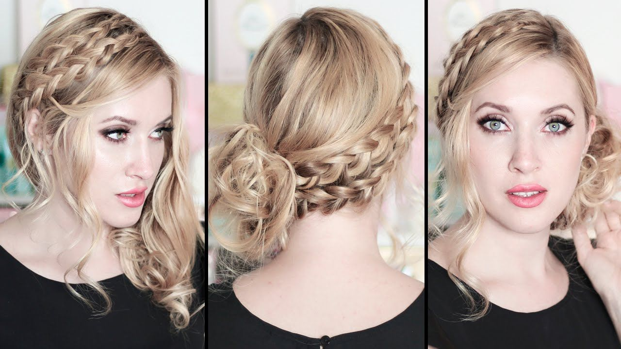 New Year's eve hairstyles 2016 for medium long hair