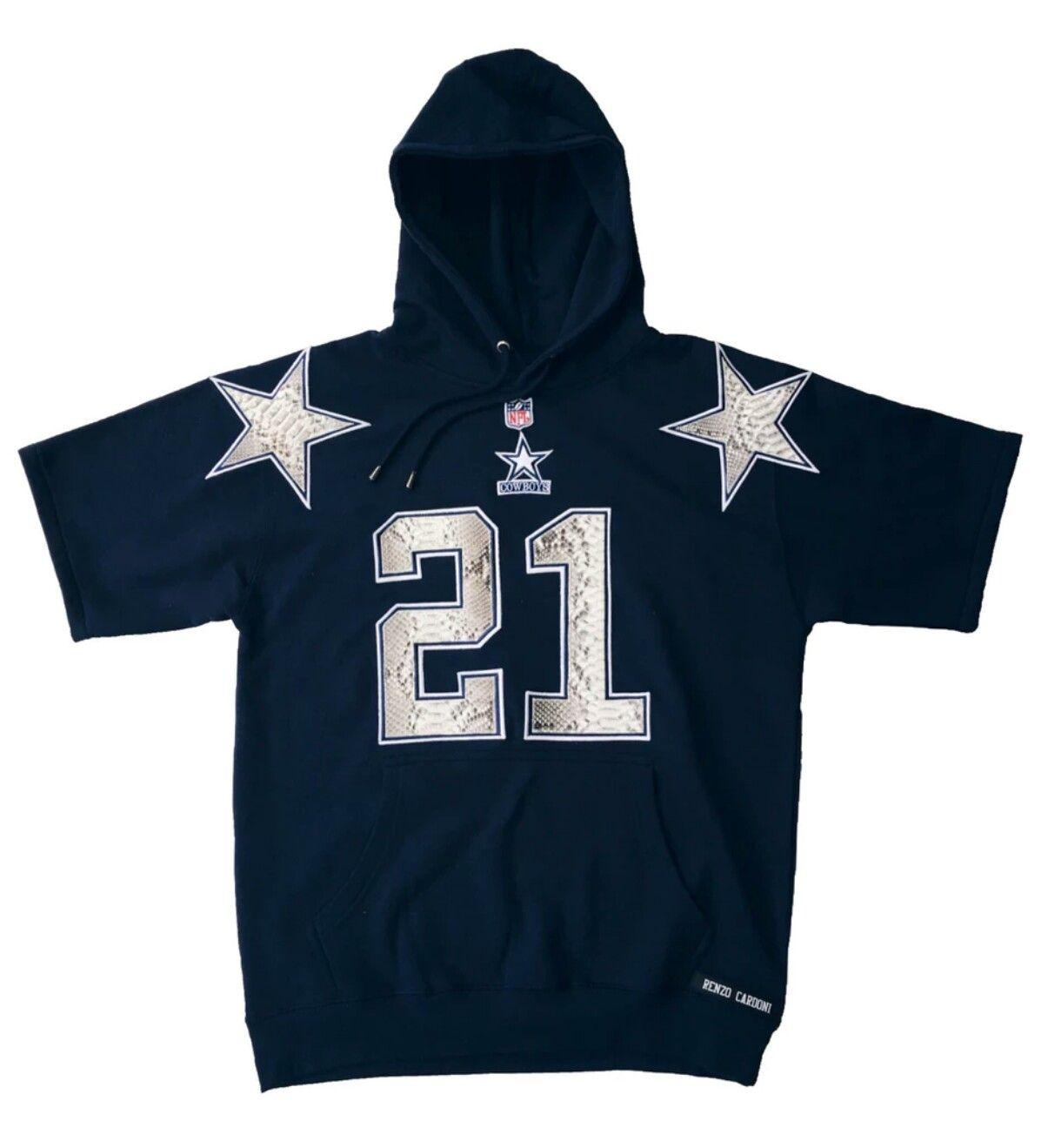 Deion Sanders genuine python hoodie by RENZO CARDONI  DallasCowboys  NFL   Sportswear  RenzoCardoni  PinState 49b667f83