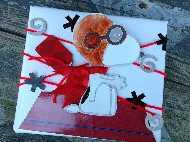 Charlie brown christmas gift wrap