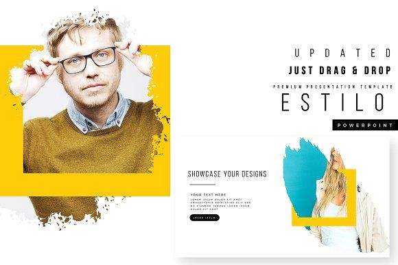 Estilo powerpoint template update by brenners template on estilo powerpoint template update by brenners template on creativemarket toneelgroepblik Image collections