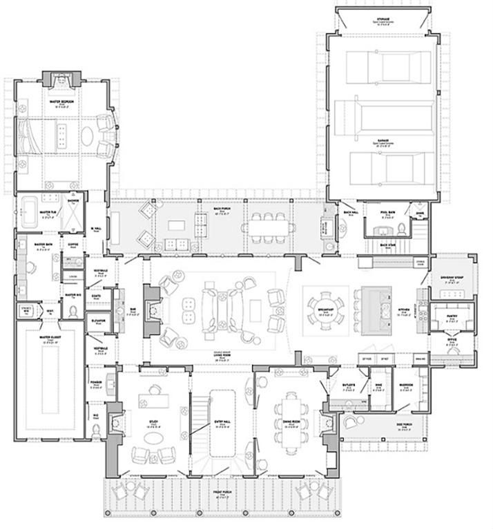Nice Modern House With Floor Plan: Nice Plan......First Floor