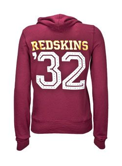 e0adce6c4 LADIES VICTORIA S SECRET PINK REDSKINS HOODED SWEATSHIRT