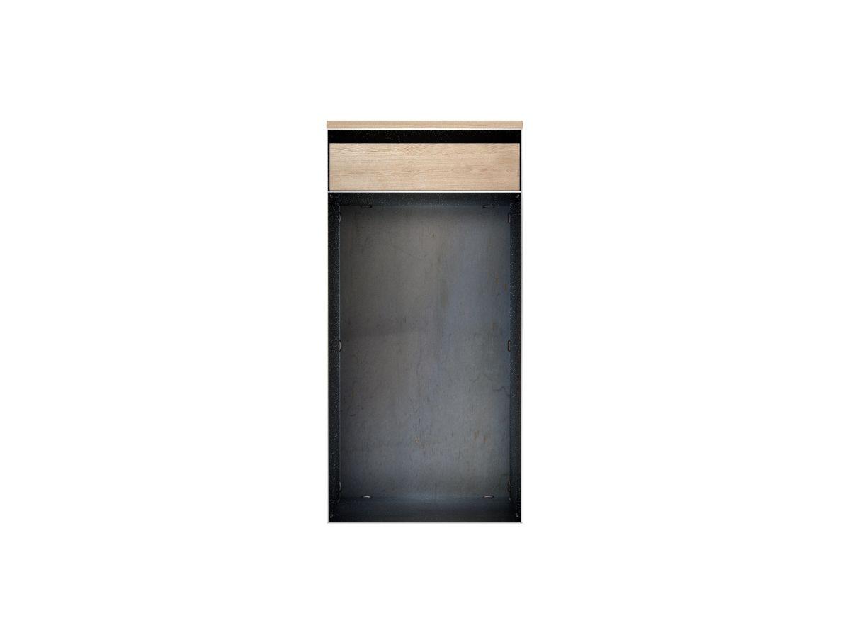 designstahlm bel f r innen aus rohstahl design stahlm bel mit massivholz rustikal tu pinterest. Black Bedroom Furniture Sets. Home Design Ideas