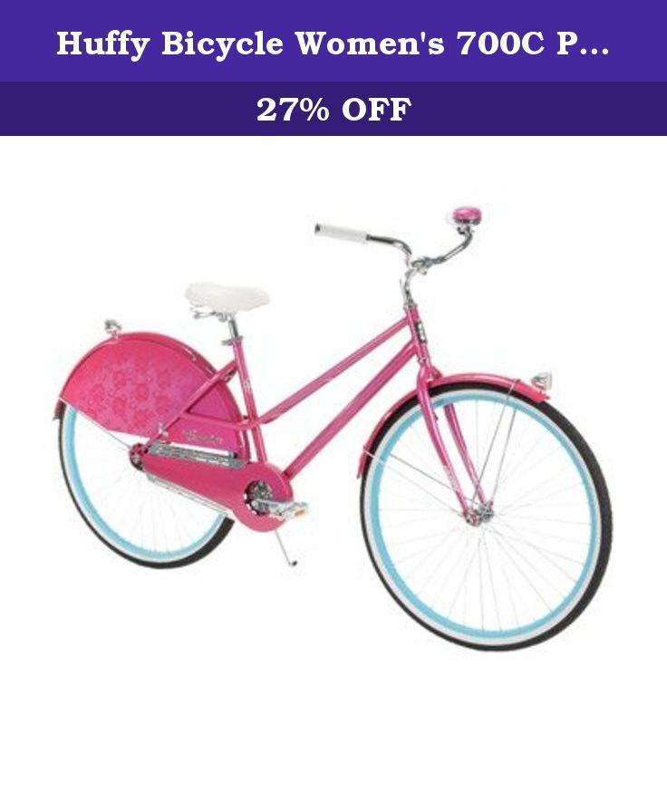 709953ee8a2 Huffy Bicycle Women's 700C Premier Modern Cruiser Bike, 26