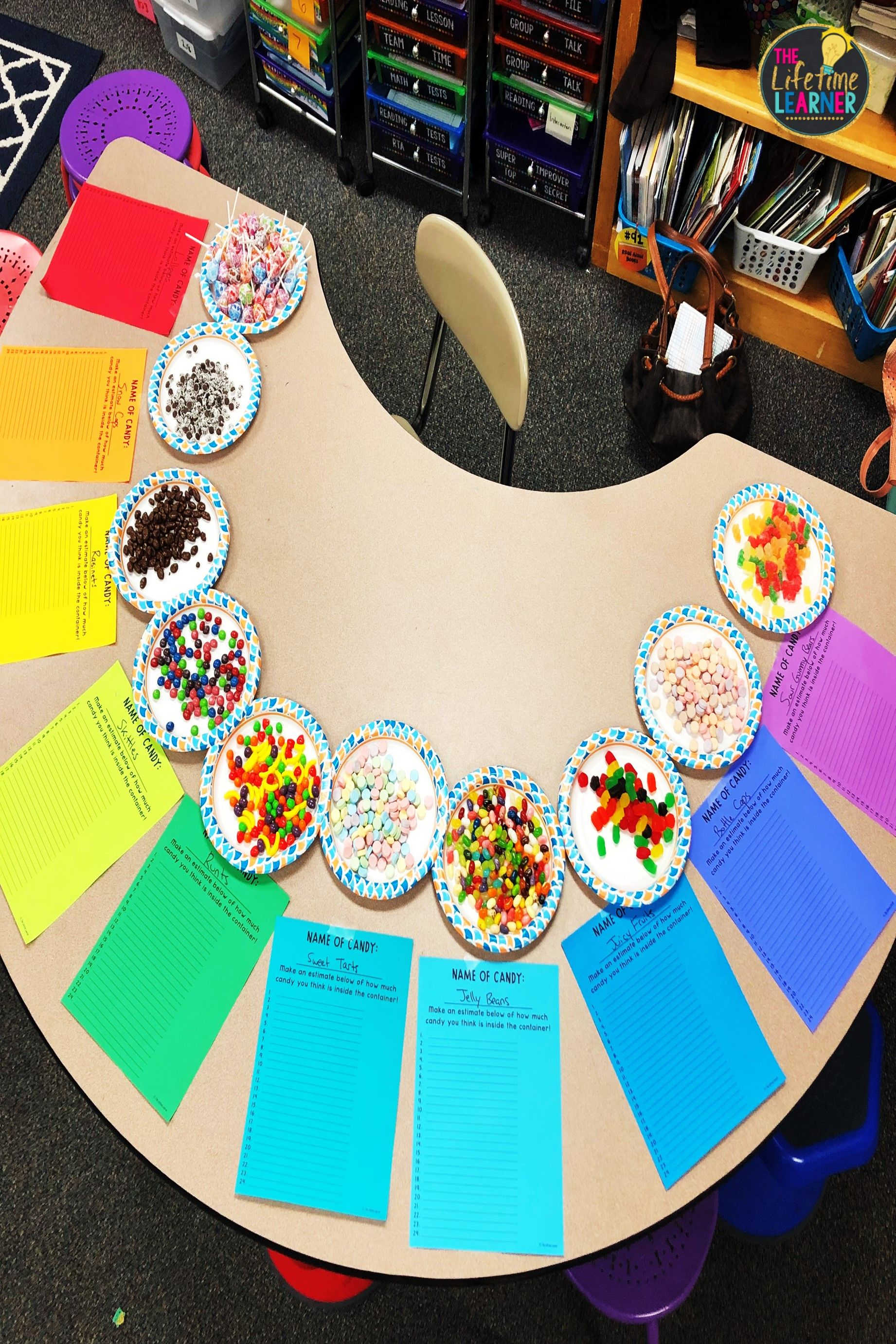 Check Out This Fun Candy Shop Classroom Transformation For