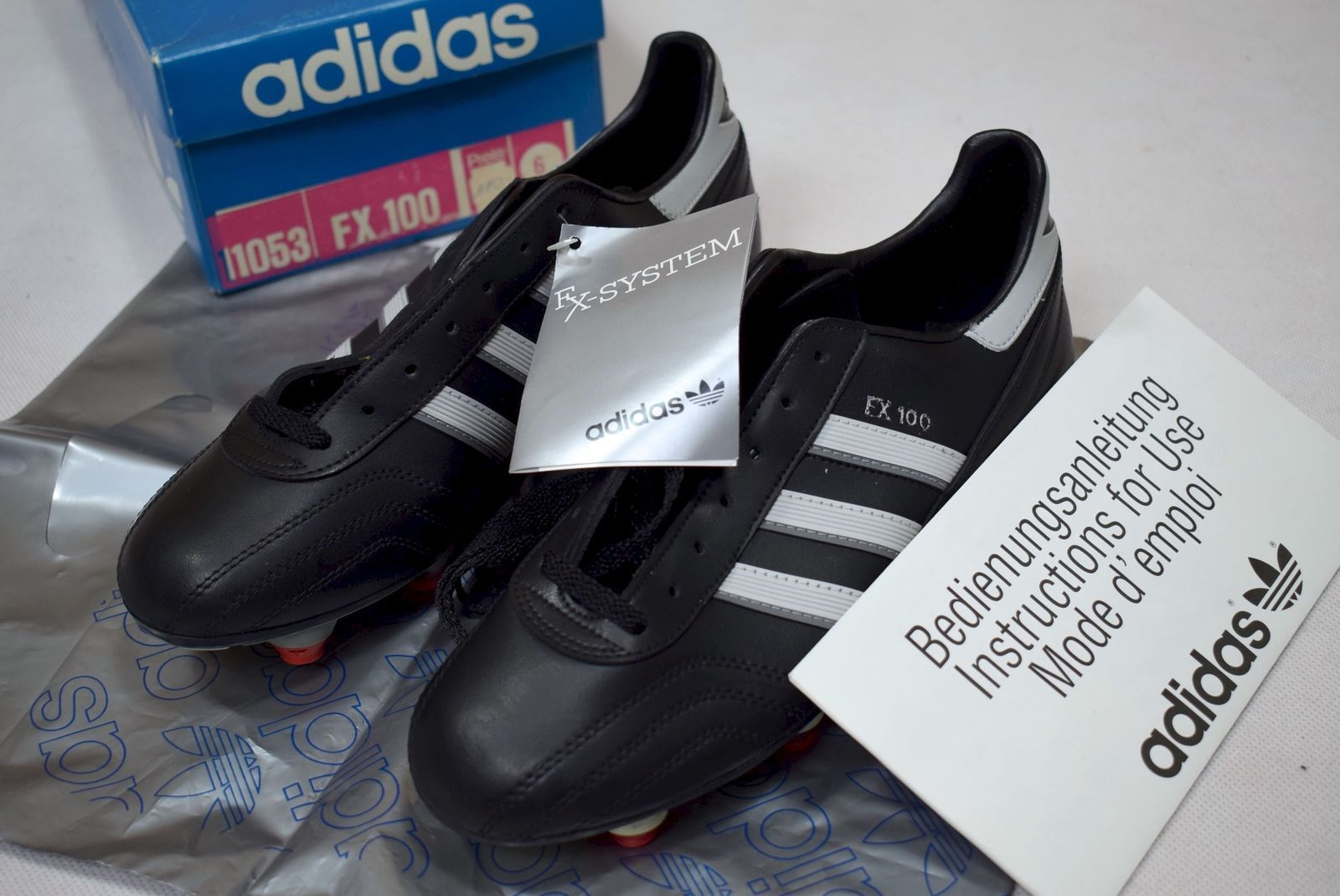 Adidas FX 100 Soccer Shoes Soccer Shoes Cleats Vintage