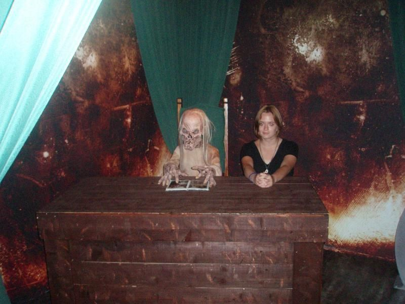 Interning for the Crypt Keeper. A fabulous thing to see on a resume.    Gatlinburg, Tennessee