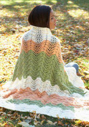 Melon Ripple Afghan | Pinterest | Ripple afghan, Knitting patterns ...