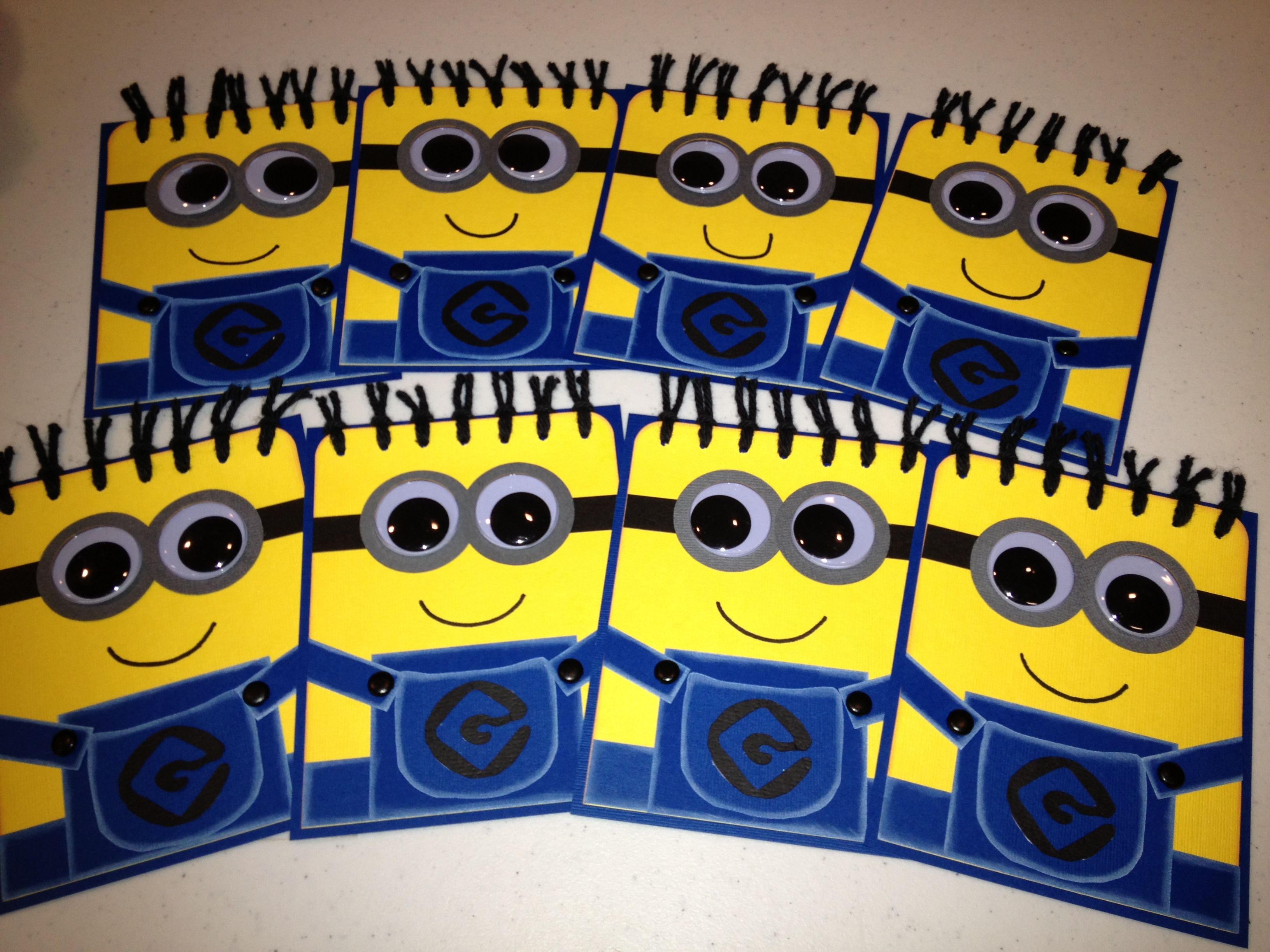got the minion party despicable me invitations made i love my