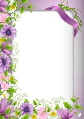 Pin By Nandini On Stuff To Buy Flower Frame Flower Border Borders And Frames