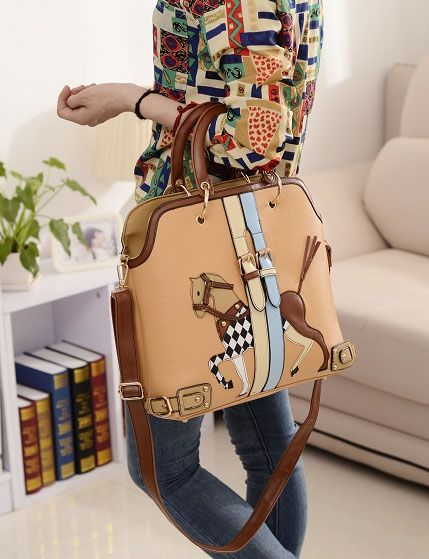 fce9d11c1 Stylish Women's Crossbody Bag With Pony Pattern and Buckle Design (AS THE  PICTURE)   Sammydress.com
