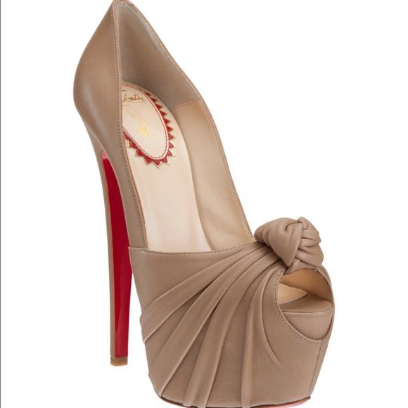 4413d55c713 Limited edition Christian Louboutin Lady Grecian These are apart of the  special 20th anniversary capsule collection for Christian Louboutin.