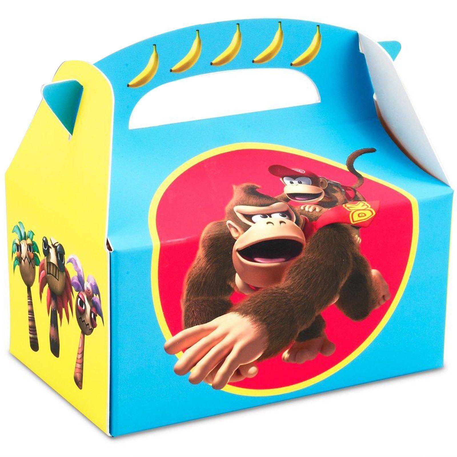Donkey Kong Empty Favor Boxes