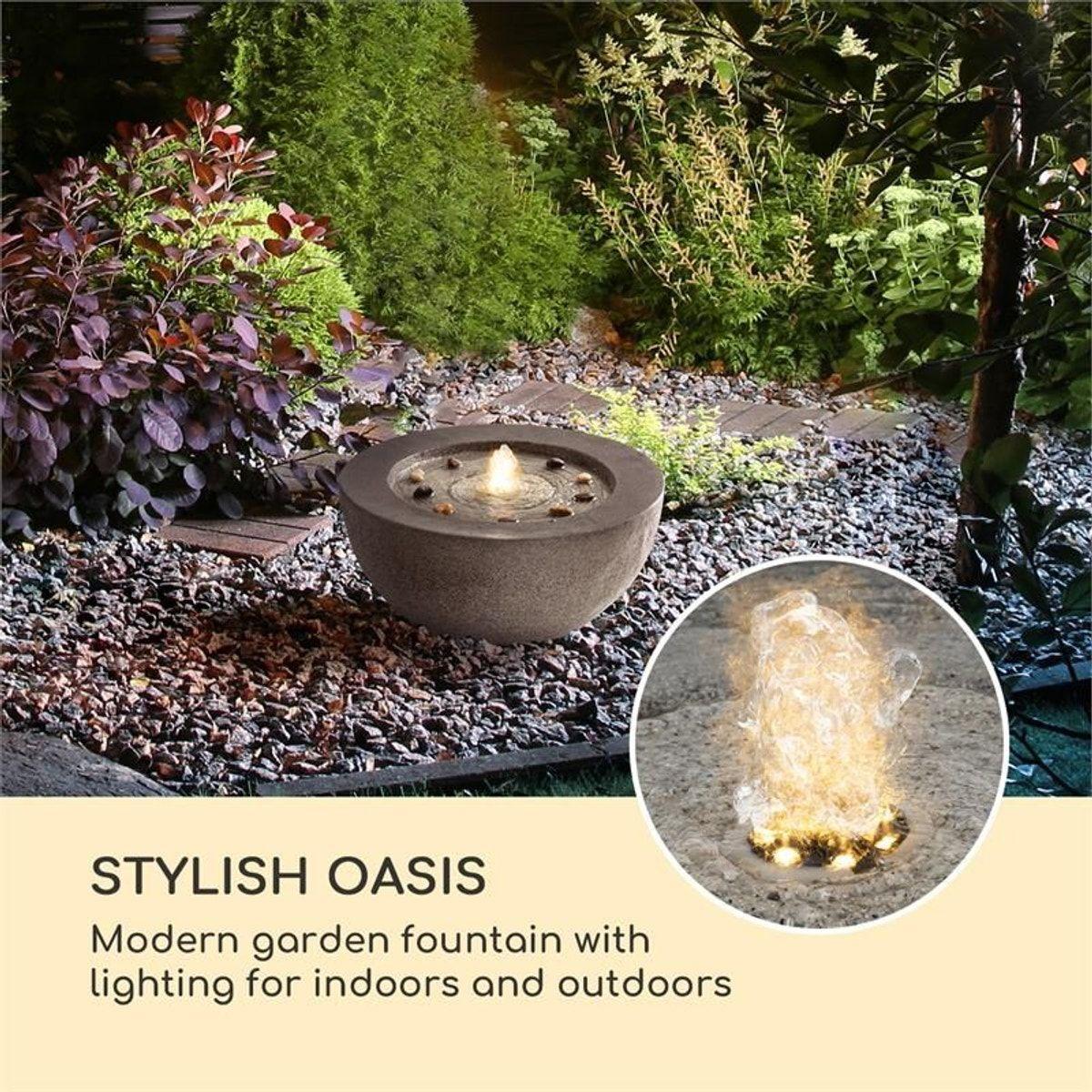 Photo Fontaine De Jardin fontaine décorative de jardin génésis - taille : taille