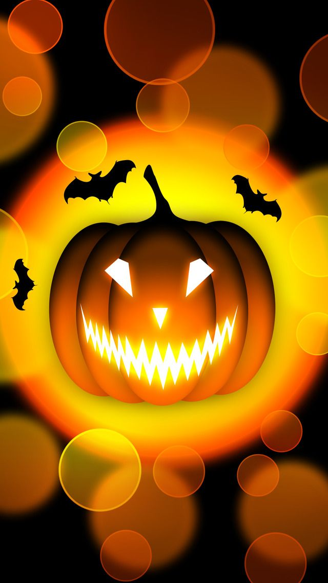 Jack O Lantern Mobile Wallpaper Halloween Wallpaper Iphone Halloween Images Halloween Wallpaper
