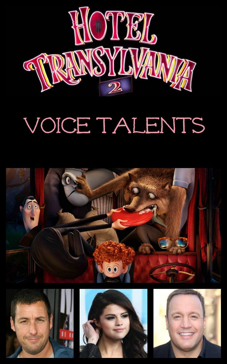 The Many Voices Behind The Characters Of Hotel Transylvania 2