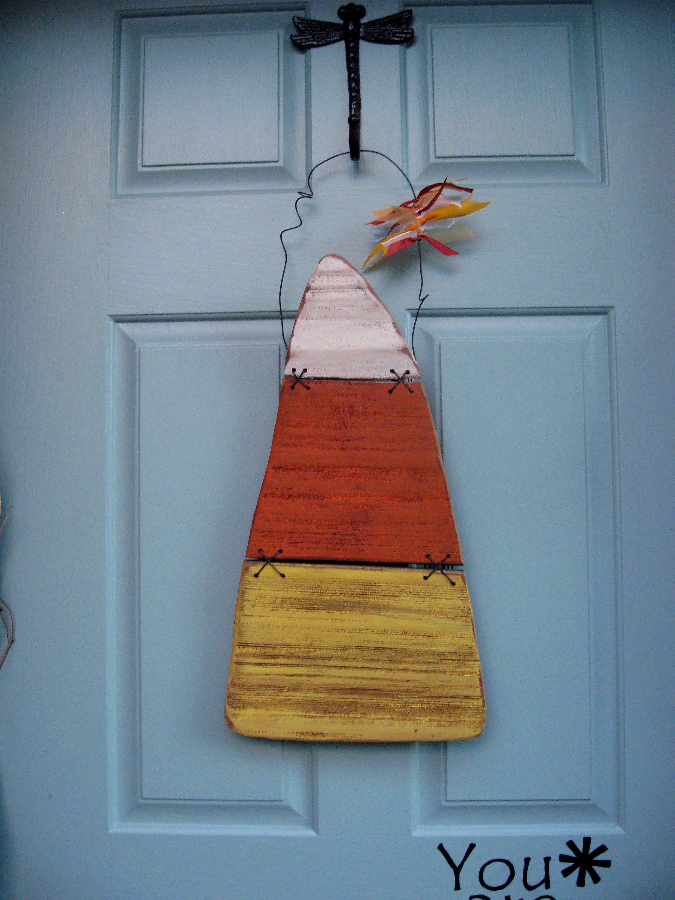 13+ Candy corn wood crafts ideas