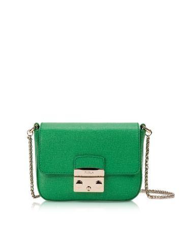c1fa83011e Furla Metropolis Saffiano Leather Mini Crossbody Bag w Chain  248.00 ...