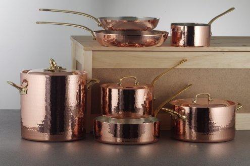 Love The Ruffoni Hammered Copper Set Copper Cookware Set Copper Cookware Cookware Set