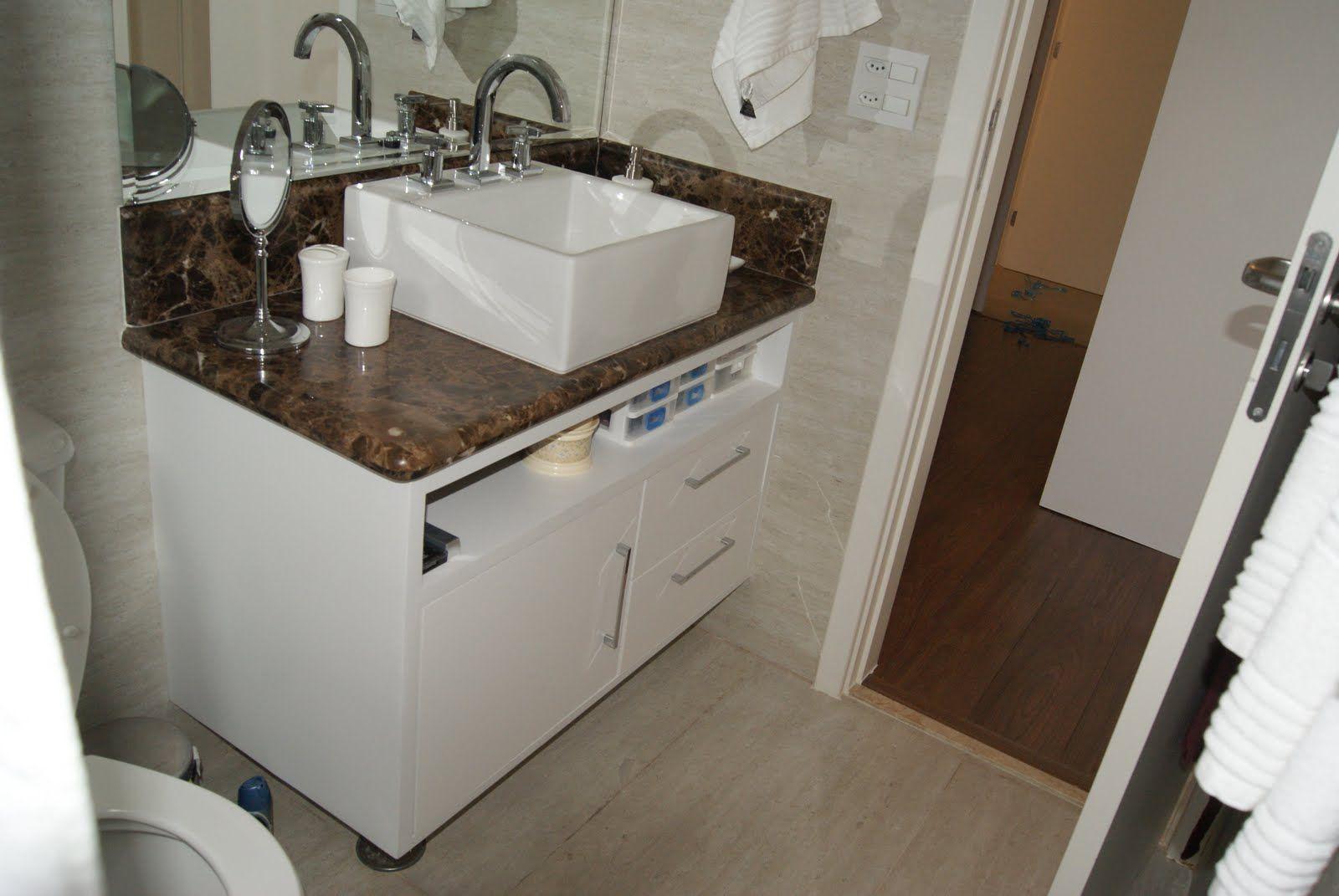 gabinete para banheiro 2jpg (1600×1071)  Ideias para Banheiros  Pinterest  -> Kit Gabinete De Banheiro Harpex