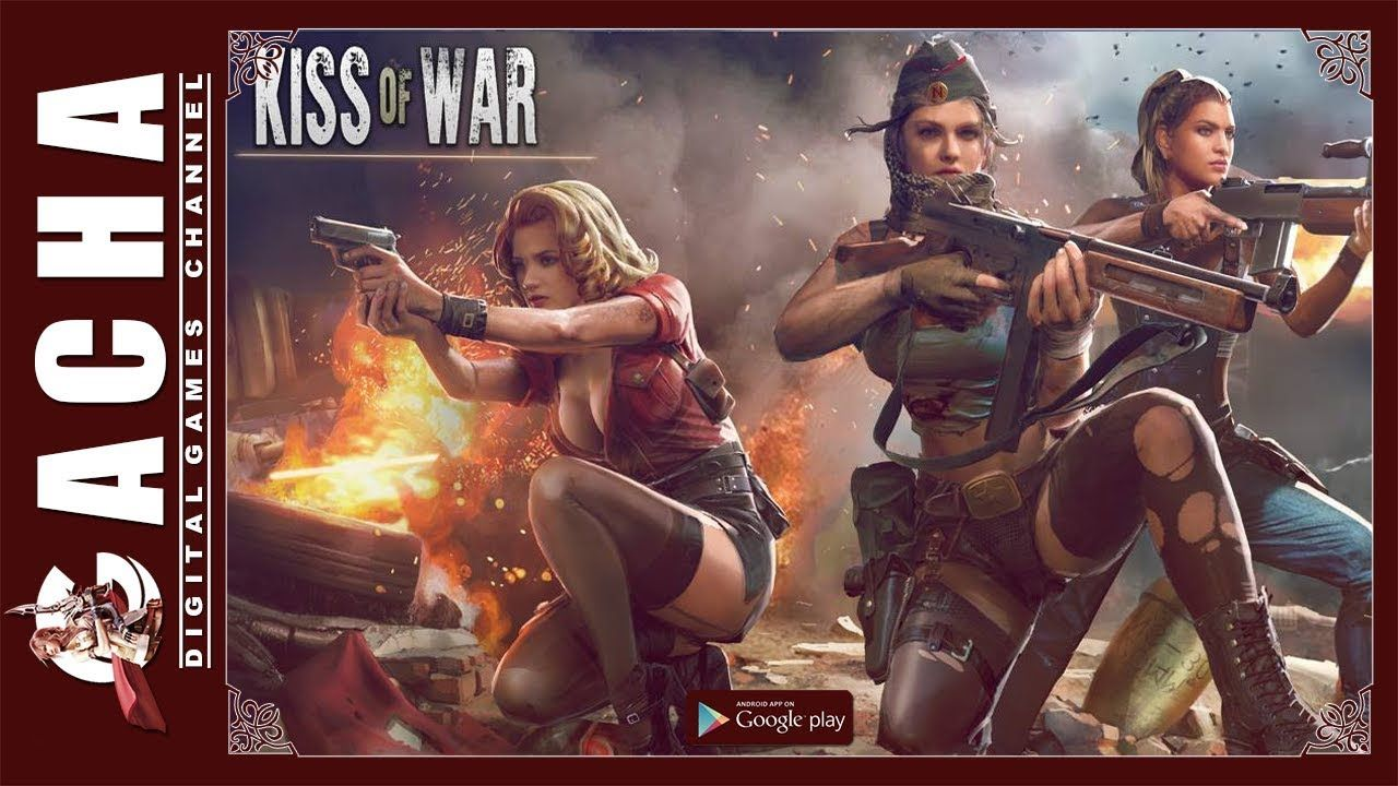 Kiss of War 🇺🇸 EN 📱 Android 🎮 Gameplay War, Android