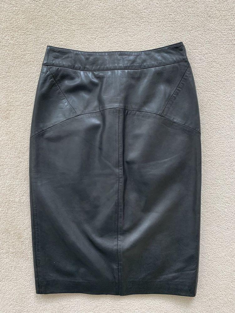 68673fe62e09 Whistles Kel Leather Pencil Skirt - UK Size 10  fashion  clothing  shoes