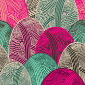 Colour Me Lovely fabric by lydia_meiying for sale on Spoonflower - custom fabric, wallpaper and wall decals