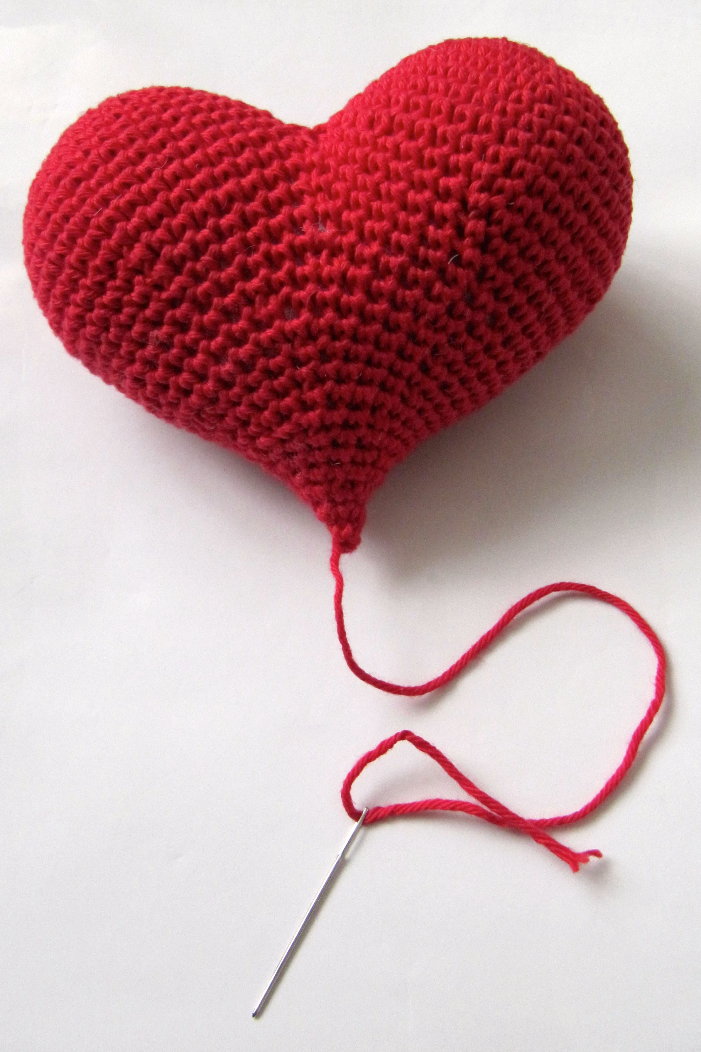Herz Häkeln Anleitung Häkeln Crochet Crochet Home Und Crochet