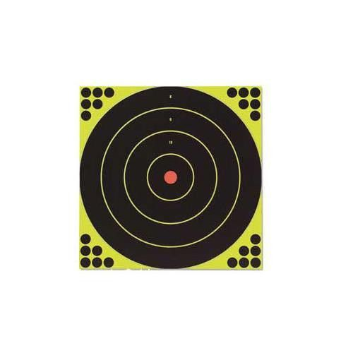 Birchwood Casey Shoot-N-C High Viz Shooting Targets  for Rifle and Pistol use