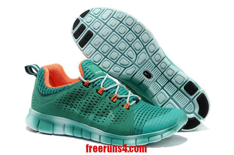 wholesale dealer 24fac f4bef Nike Free Powerline II Mens Atomic Teal Gradual Change Orange 555306 330  Comprar Zapatillas Nike,