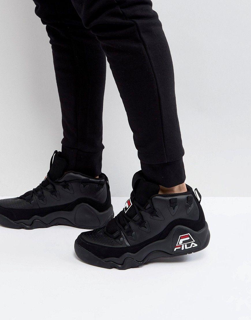 18b7338a2cfbf8 FILA 95 MID SNEAKERS - BLACK.  fila  shoes