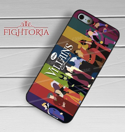 Disney Villains Poster Art for iPhone 6S case, iPhone 5s case, iPhone 6 case, iPhone 4S, Samsung S6 Edge