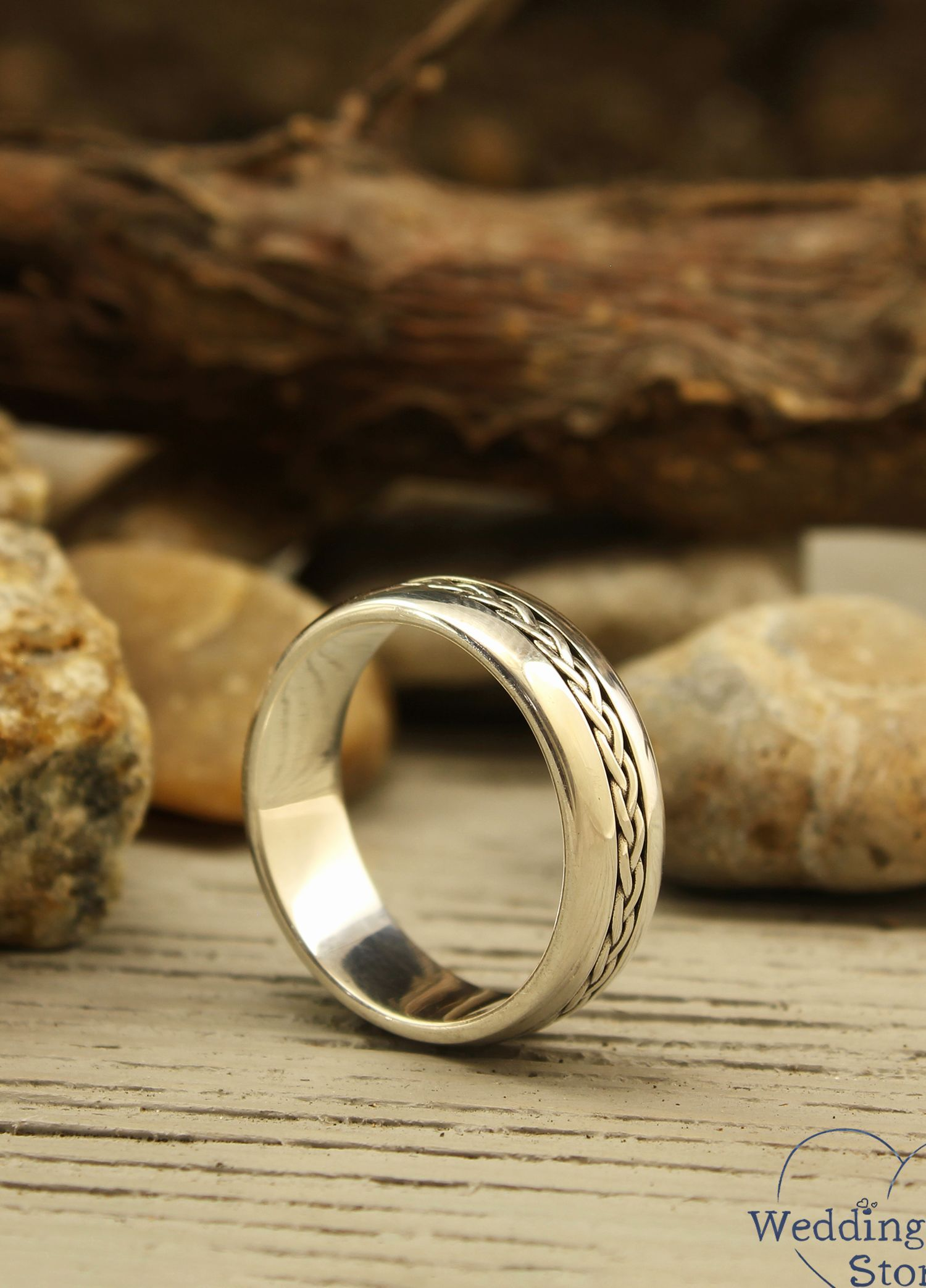Pin On Silver Engagement Wedding Rings