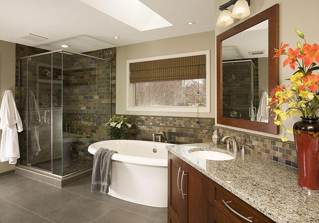 Granite - simple, Craftsman, Rustic, Skylight, Free ...