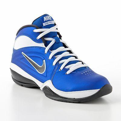 boys Nike Basketball Shoes | Nike Air Visi Pro III Basketball Shoes - Grade  School Boys