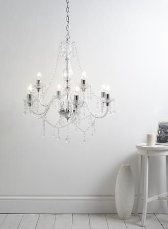 A modern vintage a modern take on a vintage inspired design the bryony 9 light chandelier is perfect for adding elegance and romance to your room