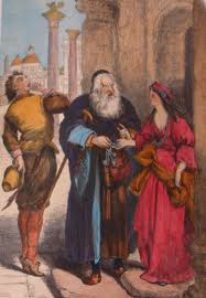 the merchant of venice relationships