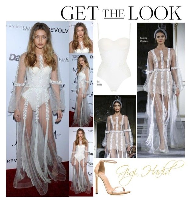 """Gigi Hadid Daily Front Row's Fashion Los Angeles Awards March 20 2016"" by valenlss ❤ liked on Polyvore featuring La Perla and Stuart Weitzman"
