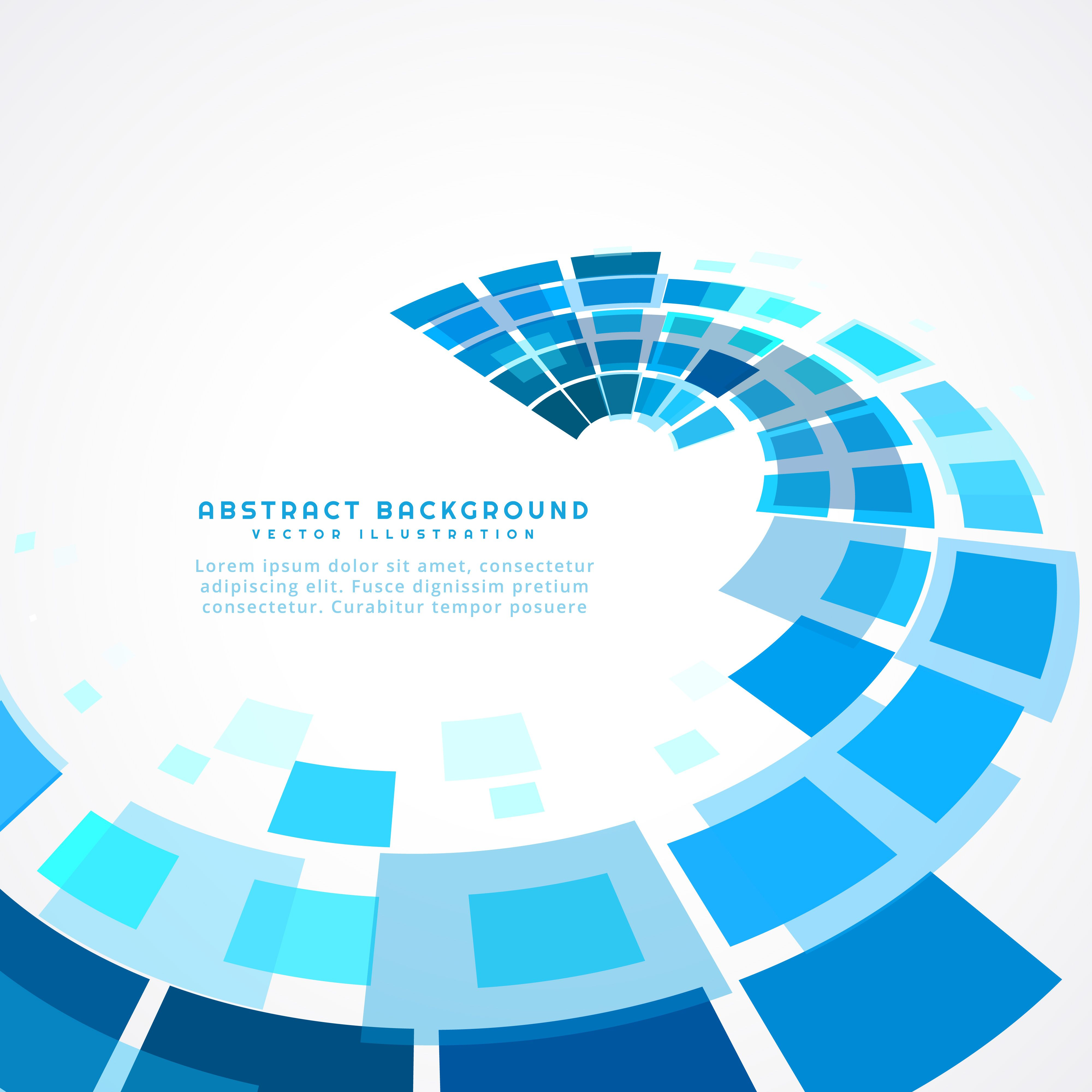 Perspective Blue Abstract Wave Vector Choose From Thousands Of